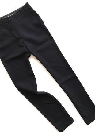 Черные брюки massimo dutti скинни