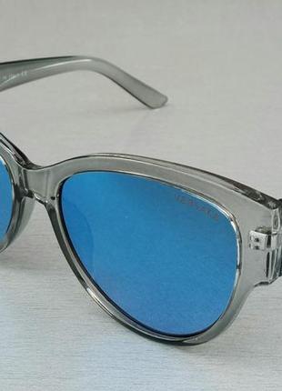Versace очки женские солнцезащитные зеркальные голубые