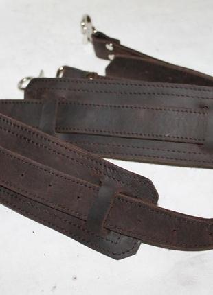 Прочный кожаный ремень 100% натуральная кожа