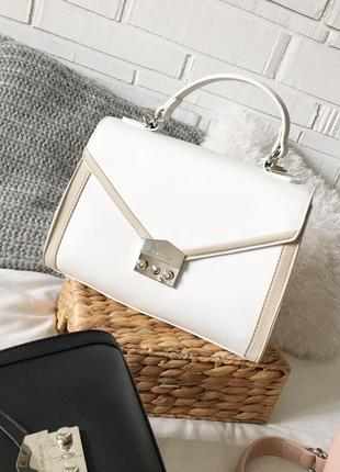 Брендова cумка david jones 100% оригінал білого кольору