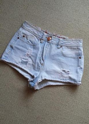 Модные джинсы посадка на талии фирменные р 8