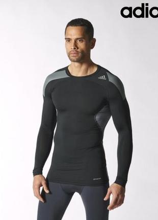 Оригинальная компресионная футболка  adidas ®techfit cool