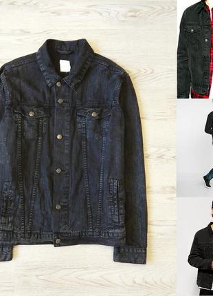 Мужская джинсовая куртка shana р. м. состояние новой. блейзер, пиджак
