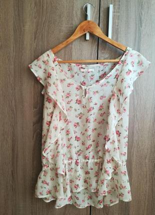 Легкая, летняя блуза colins
