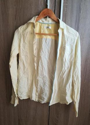 Желтая рубашка bpc
