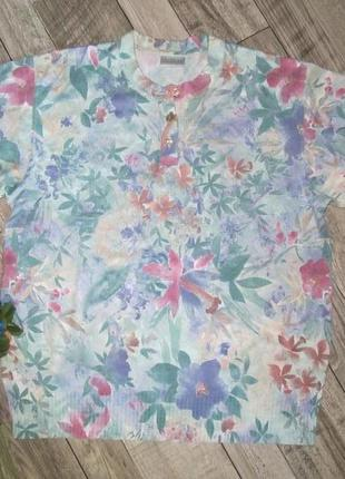 Трикотажный блузон р38