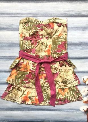 Класне літнє плаття bershka p.s-m