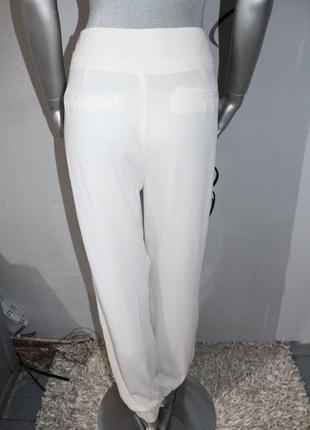 Белые брюки штаны3 фото