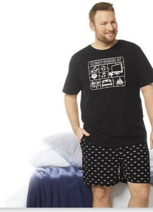 Хлопковая футболка livergy большой размер