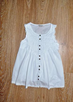 Белоснежная стильная блузка next