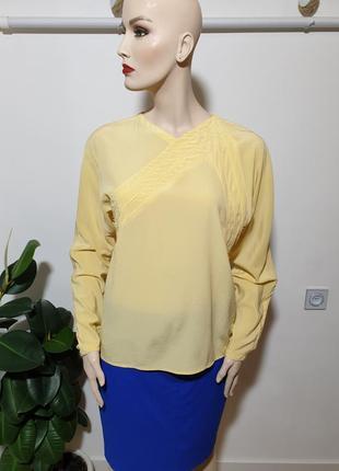Винтажная блуза шёлк gianni versace