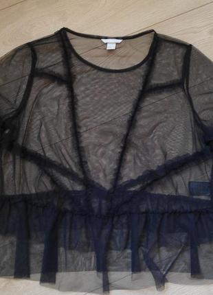 Красивая блуза-сетка