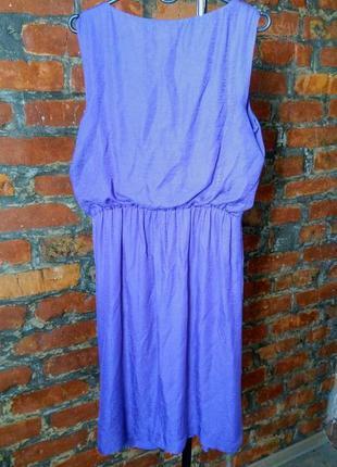 Платье с драпировкой из мокрого шелка monsoon2 фото