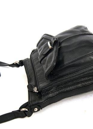 Clarks. кожаная сумка через плечо. кроссбоди4 фото