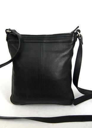 Clarks. кожаная сумка через плечо. кроссбоди6 фото