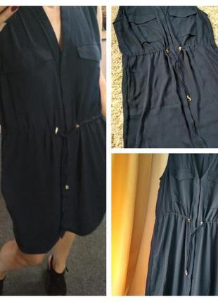 Стильное платье рубашка,h&m, p. 14-16