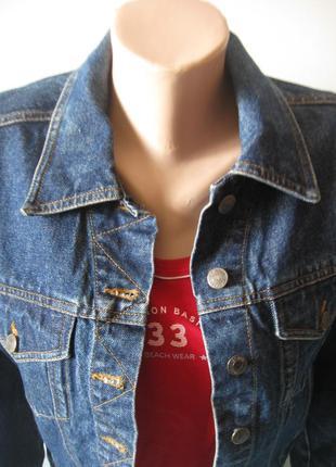 Джинсовая куртка - база - красивый цвет индиго!
