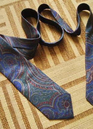 Pierre balmain france, оригинал, шелк, галстук винтажный.