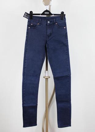 Новые темно-синие джинсы cheap monday3 фото