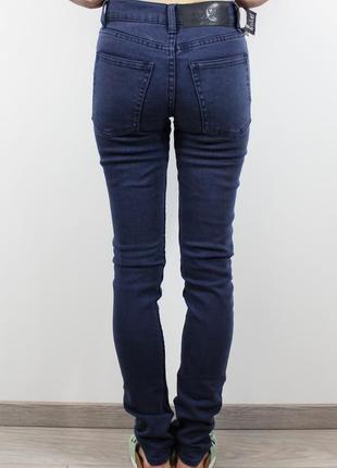 Новые темно-синие джинсы cheap monday1 фото