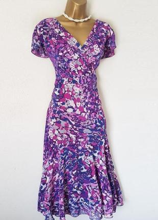 Расклешенное от бедра платье per una/marks & spencer c cайта asos