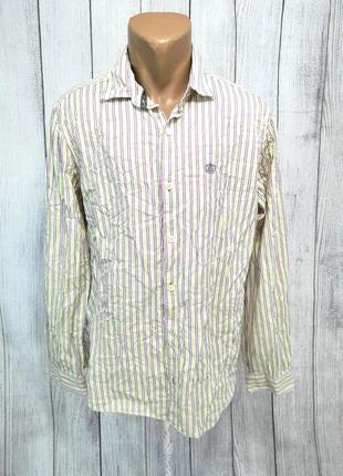 Рубашка стильная next soft and lemon, хлопок
