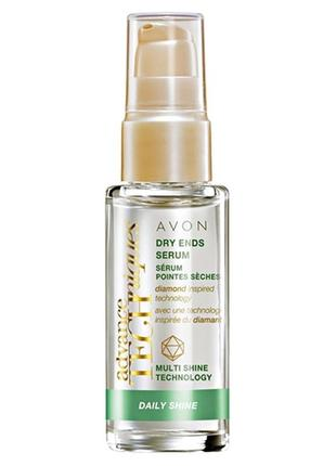 Розпродаж!!! avon advance techniques олійка для сухих кінчиків волосся(30 мл)суперціна!