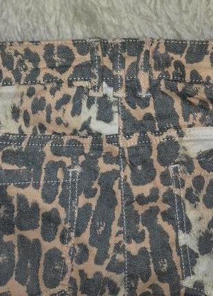 Летние джинсы расцветка лео6 фото