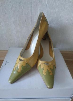 Стильные кожаные туфли lloyd германия р  4,5