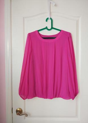 Блуза цвета фуксии