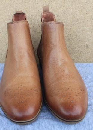 Ботинки челси pier one англия кожа 39р броги2 фото