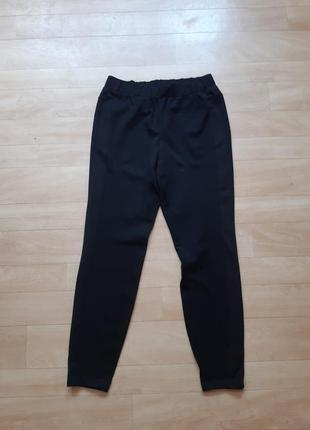 Чёрные спортивные трикотажные штаны zizzi