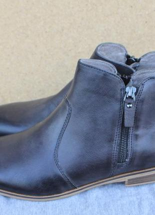Новые ботинки pier one англия кожа 39р