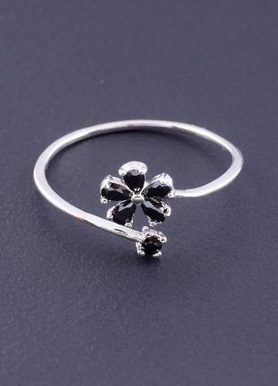 Кольцо фианит (серебро) 0715250