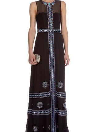 Очень красивое шелковое платье от   karen millen, p. 12-14