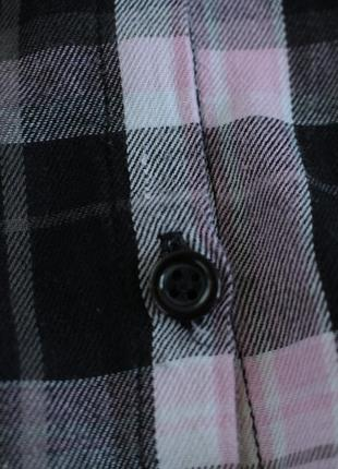 Стильная рубашка в актуальную клетку4 фото