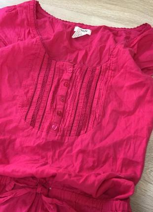 Хлопковое платье2 фото
