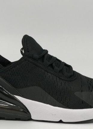 Кроссовки мужские в стиле air max 270 8219-1 черные2 фото
