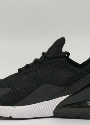 Кроссовки мужские в стиле air max 270 8219-1 черные5 фото