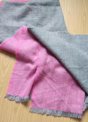 Ворсистый мягкий шарф