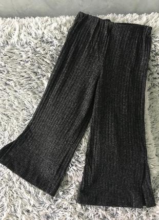 Идеальные штаны кюлоты в рубчик calliope