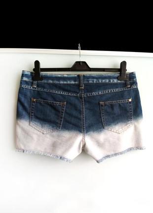 Джинсовые шорты george с градиентом5 фото