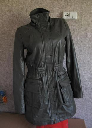 Куртка/ пальто кож. зам размер eur 36 s