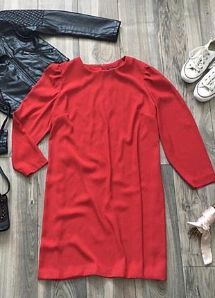 Шикарное платье прямого кроя marks&spencer