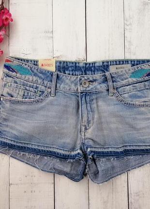 Шорты джинсовые h&m, размер 36, 38.
