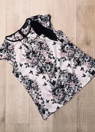 """Шикарная блуза в цветочный принт """"dorothy perkins"""""""