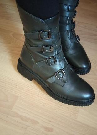 Новые,кожаные ботинки,полуботинки,полусапоги,ботиночки,экспорт,англия