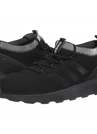 Кроссовки adidas questar rise black/black/carbon