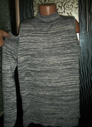 Модный свитшот с открытыми плечами new look нью лук