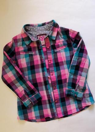 Брендовая рубашка palomino на рост 104 см
